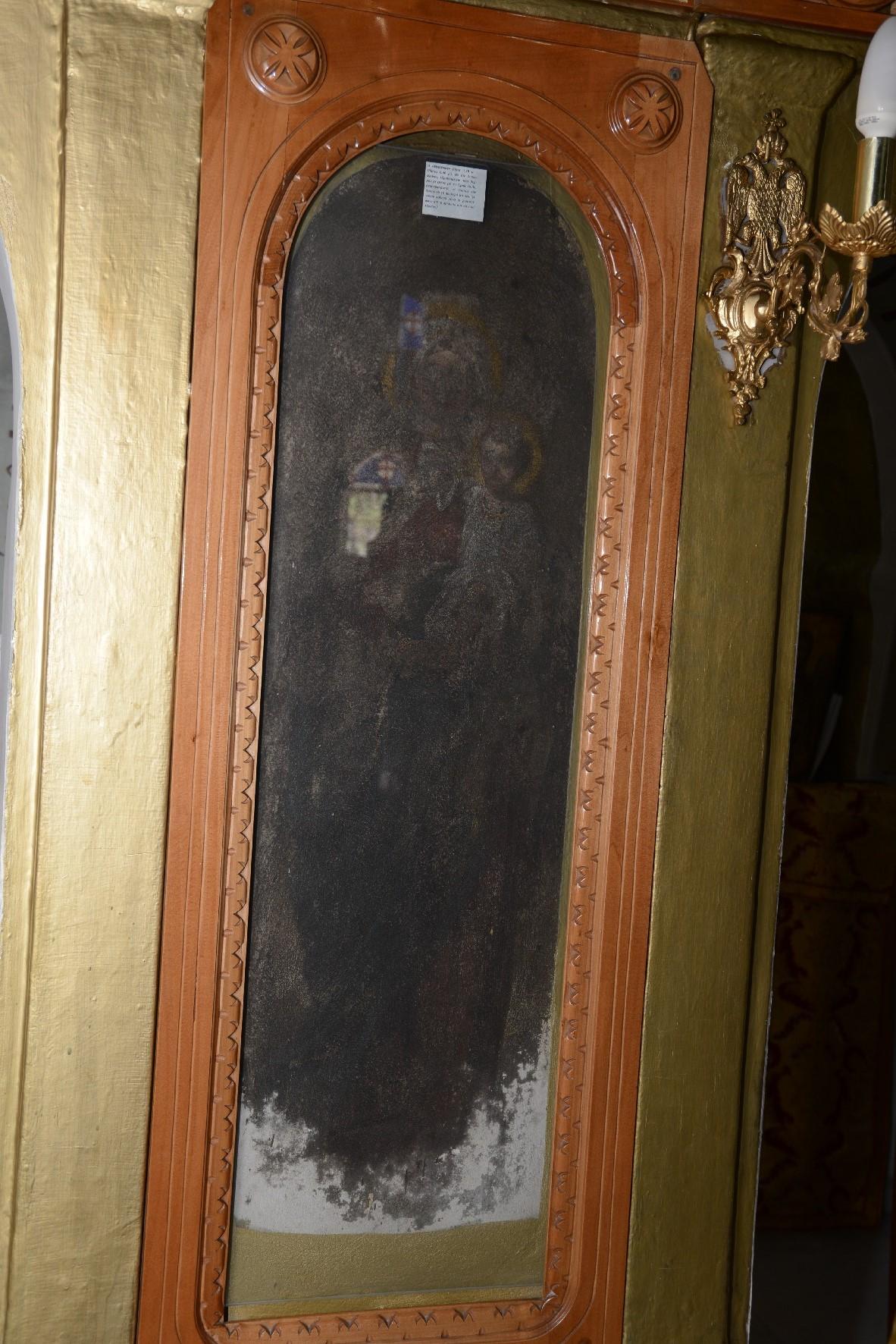 Τοιχογραφίες στον Ιερό Ναό Αγίου Γεωργίου