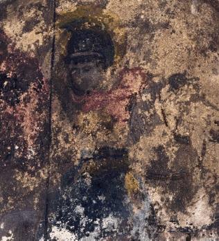 Τοιχογραφία στον Ιερό Ναό Αγίου Γεωργίου